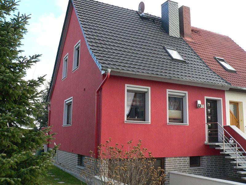 Fassadengestaltung einfamilienhaus beispiele  Fassadengestaltung - Malermeister Jantsch